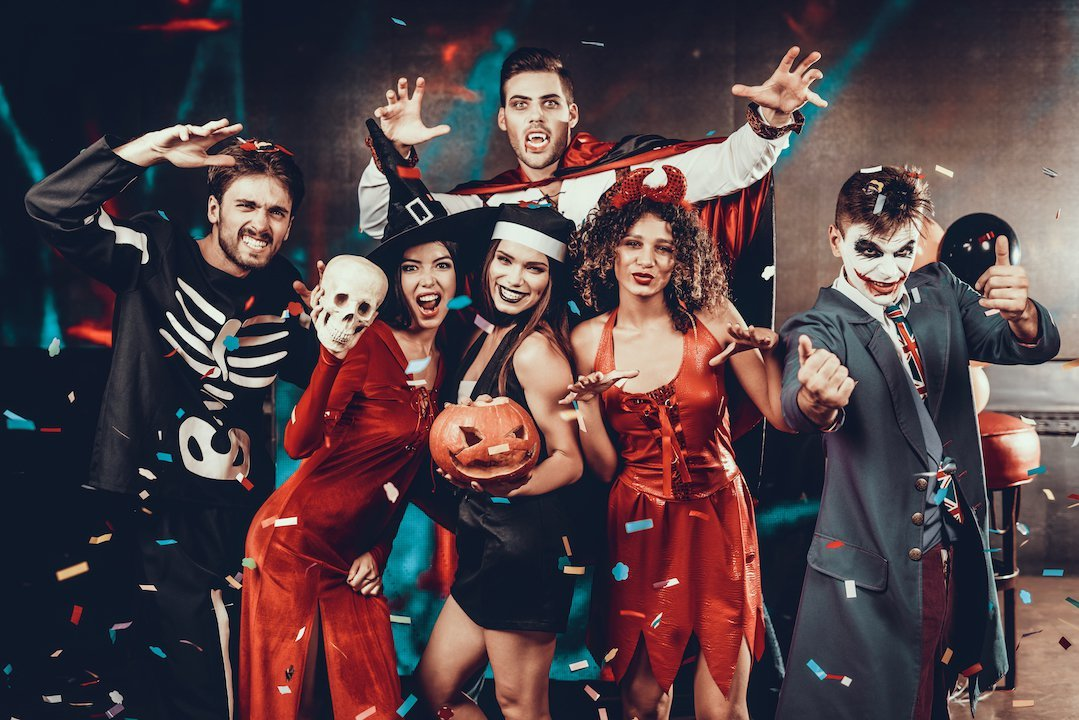 Halloween Theme Party.Halloween Boat Party 2019