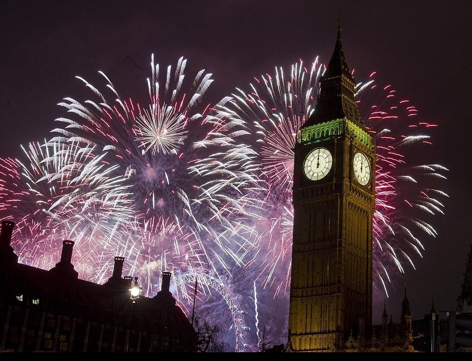New Years Eve London 2013