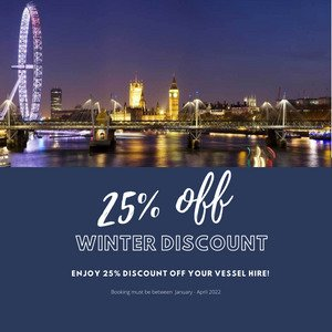 25% off Boat Hire